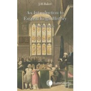 An Introduction to English Legal History by J.H. Baker