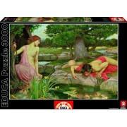 Educa - 15541 - Puzzle - Écho et Narcisse - J.W. Waterhouse - 3000 Pièces