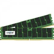 Mémoire RAM Crucial DDR4 32 Go (2 x 16 Go) 2400 MHz CL17 ECC DR X8 PC4-19200 - CT2K16G4XFD824A