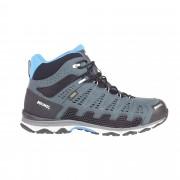 Meindl X-SO 70 Mid GTX Herren Gr. 10 - grau blau / anthrazit/blau - Sportliche Hikingstiefel