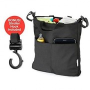 Stroller Organizer + Stroller Hook Classic Neat and Practical