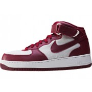Nike Air Force 1 Mid 07 Trainers In Red White Red