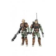 Halo Reach - UNSC Trooper Personal de Apoyo 2 Pack - Radio Trooper y Medic trooper