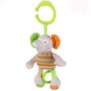 Плюшена музикална играчка Funny Jumbo 1240, Слонче, 9070227