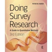 Doing Survey Research by Peter Nardi