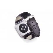 dbramante1928 Copenhagen Apple Watch bandje 42mm zilver/zwart