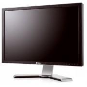 Monitor DELL UltraSharp 2408WFP, LCD, 24 inch, 1920 x 1200, VGA, 2 x DVI, 4 x USB, HDMI, Display Port, WIDESCREEN, Fara Picior, Grad B