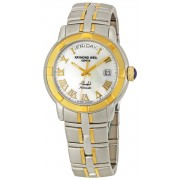 Raymond Weil Mens 2844-STG-00908 Parsifal White MOP Dial Watch