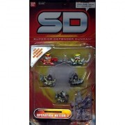 Superior Defender Gundam: Operation Meteor 2 - 1.5 Mini Defender 5 Pack by Bandai