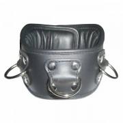P. M. Body Leather gepolsterte Halskrause, S/M
