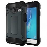 For Samsung Galaxy J1 Mini / J105 Tough Armor TPU + PC Combination Case(Dark Blue)