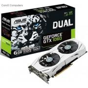 Asus Dual GeForce GTX 1060 6Gb/6144mb DDR5 192bit Graphics Card