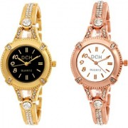 Dch Round Dial Multi Analog Watch Combos For Women-Gw-1