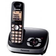 Panasonic KX-TG6521GB Teléfono fijo digital, color negro