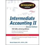 Schaum's Outline of Intermediate Accounting II by Baruch Englard