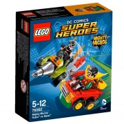 LEGO Super Heroes - Set Mighty Micros: Robin vs. Bane, multicolor (76062)