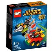 LEGO 76062 - Figurine Super Heroes Mighty Micros Robin Vs Bane