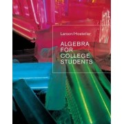 Algebra for College Students by Ron Larson
