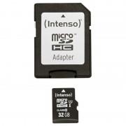 Cartão de Memória MicroSDHC Intenso 3423480 Premium - 32GB
