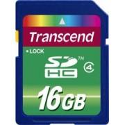Card de Memorie Transcend SDHC 16GB Clasa 4