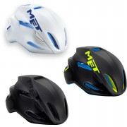 Met Manta Aero Road Helmet - Black - L/59-62
