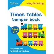 Times Tables Bumper Book Ages 5-7 by Collins Easy Learning