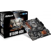 Asrock B150M-HDV Intel B150 LGA1151 Micro ATX moederbord