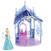Mattel Disney Frozen MagiClip Flip 'N Switch Castle and Elsa Doll