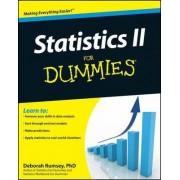 Statistics II for Dummies by Deborah J. Rumsey