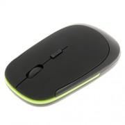 Baoblaze Ultra-Slim Mini USB 2. 4G Wireless Optical Mouse Mice 1600 DPI for PC Black