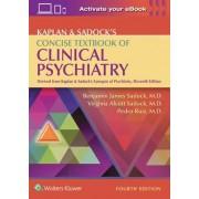 Kaplan & Sadock's Concise Textbook of Clinical Psychiatry by Benjamin Sadock