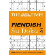 The Times Fiendish Su Doku: Book 4 by The Times Mind Games