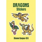 Dragons Stickers by Dianne Gaspas-Ettl