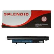 SPLENDID BRANDED - HIGH GRADE - 6 CELL LAPTOP BATTERY FOR ACER ASPIRE 9010 BATCL50L6 BATBL50L6 ( BLACK )