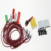 12LED Flashing Light Lines System For Rc Car And Rc Aircraft