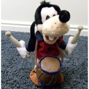 Disney Mickey Mouse Clubhouse Patriot 4th of July 10 Plush Drummer Goofy Doll