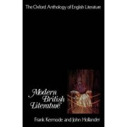 The Modern British Literature by Frank Kermode