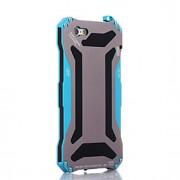 transformador de metal à prova de águaamp; dustproofamp; anti-raspar de volta caso para iphone 6s 6 mais SE 5s 5