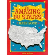 Amazing Fifty State Maze Book by Scott Sullivan