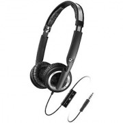 Sennheiser PX 200-II i Lightweight Supra-Aural Headphones with 3 Button Control for iPod iPhone and iPad
