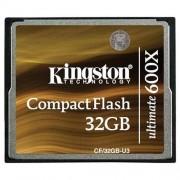 Card Kingston Compact Flash Ultimate 600x 32GB CF/32GB-U3