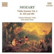 W. A. Mozart - Violin Sonatas Vol.4 (0730099459020) (1 CD)