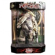 1998 Total Chaos Action Figure - Special Edition Poacher in Tank Display Case - FAO Schwarz Exclusive