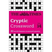 Times Cryptic Crossword Book 14 by The Times Mind Games