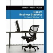 Modern Business Statistics with Microsoft Excel by David Anderson