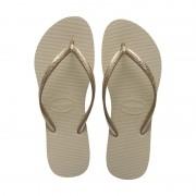 Sandália Havaianas Slim Areia/dourado Claro 33/34