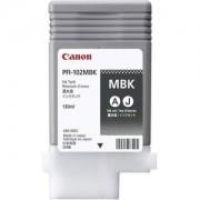 CANON PFI-102MBK - Reservoir d'Encre Canon Noir Mat Pigmenté Lucia PFI-102MBK - 0894B001