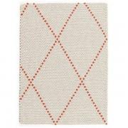 Hay Dot Carpet Poppy Red Small 80x100