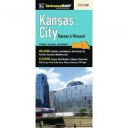 Universal Map Kansas City Fold Map (Set of 2) 10077