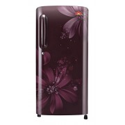LG 215 L 5 Star Direct-Cool Single Door Refrigerator (GL-B221ASAN.DSAZEBN, Scarlet Aster)